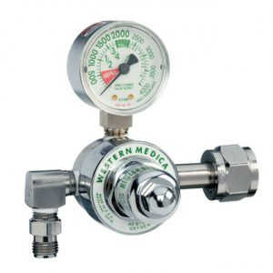 Western M1-540-P Oxygen Regulator 50 psi Medical