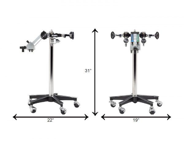 Belmed Dental Flowmeter Stand