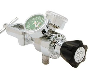 Harris 301-OX 15CB-870 Oxygen Single Stage 0-15 LPM Flow Control Regulator