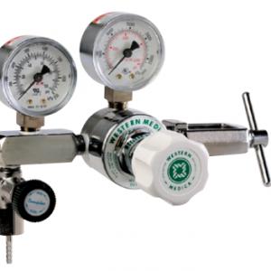 Western Medical M1-973-PGB Adjustable 0-50 PSI Medical Gas Mixtures Pressure Regulator