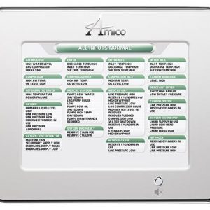 Amico Master Alarm Panel with Ethernet and LCD A4M-E-10