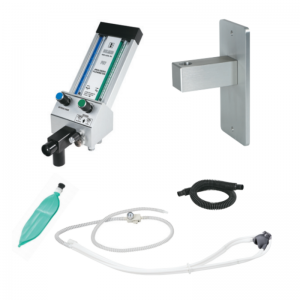Belmed Dental Flowmeter PC-7 With Stationary Arm + Scavenger