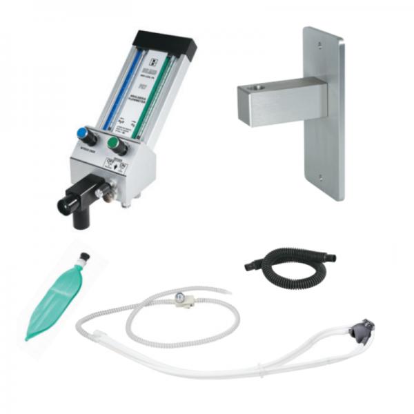 Belmed Dental Flowmeter PC-7 With Stationary Arm + Scavenger