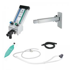 Belmed Dental Flowmeter PC-7 With Telescoping Arm + Scavenger