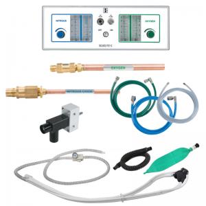 Belmed Dental Flowmeter PC-7C System + Scavenger