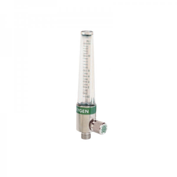 Western Medical FM108 Oxygen Flowmeter 0.5-15 LPM Adjustable Flow