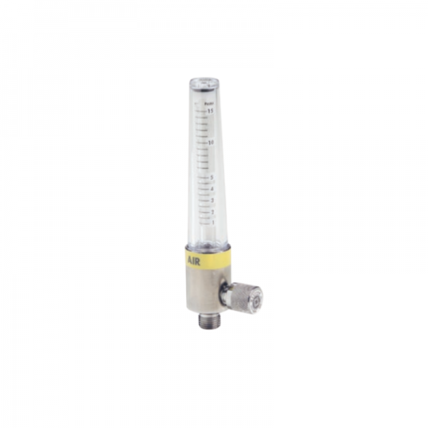 Western Medical FM604 Medical Air Flowmeter 0.5-15 LPM Adjustable Flow