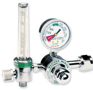 Western Medical Air Regulator & Flowmeter Combo