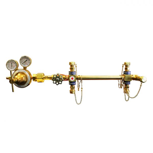 Amico Medical Air Semi Automatic Simplex Manifold M-SIMP-U-08-AIR