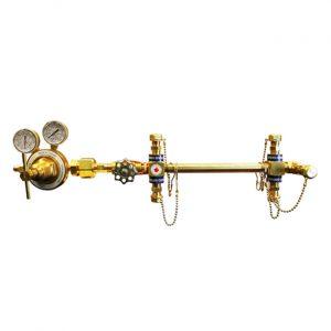 Amico Oxygen Semi Automatic Simplex Manifold M-SIMP-U-10-OXY