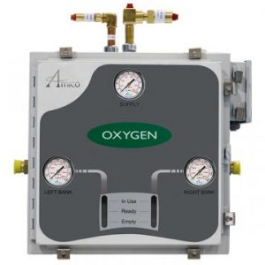 Amico Heliox Automatic Dome Loaded Analog NEMA-4 Manifold M3A4-DL-HH-S-HELIOX