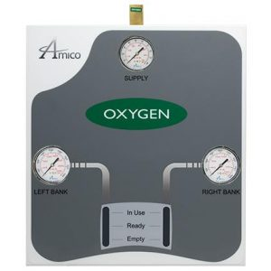 Amico Medical Air Automatic Dome Loaded Analog Manifold M3A-DL-HHH-S-AIR