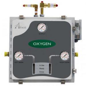 Amico Nitrous Oxide Automatic Dome Loaded Analog NEMA-4 Manifold M3A4-DL-HH-S-N2O