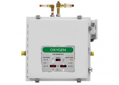 Amico Nitrous Oxide Automatic Dome Loaded Digital NEMA-4 Manifold M4D4-DL-HH-U-N2O