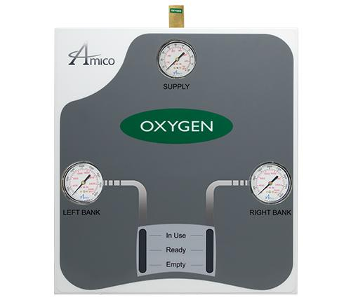 Amico Oxygen Automatic Dome Loaded Analog Manifold M3A-DL-HHH-U-OXY