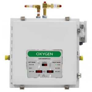 Amico Oxygen Automatic Dome Loaded Digital NEMA-4 Manifold M4D4-DL-HH-U-OXY