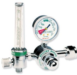 Western Medical Oxygen Regulator & Flowmeter Combo