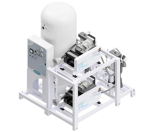 Amico Medical Scroll Compressor, Duplex SCD Modular Stack Mount