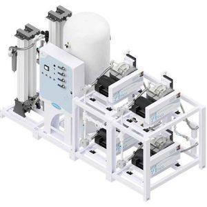 Amico Medical Scroll Compressor, Quadruplex SCD Modular Stack Mount
