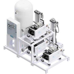 Amico Medical Scroll Compressor, Triplex SCD Modular Stack Mount
