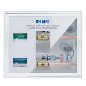 Belmed A150, Oxygen & Nitrous Manifold Zone Valve Shut-Off Kit